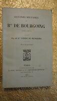 Souvenirs militaires du Bon de Bourgoing 1897