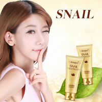 Perfect Face Wash Snail Cleansing Foam Gel Facial Cleanser Moisturizing 100g ;