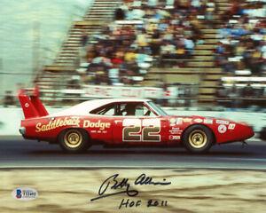 BOBBY ALLISON SIGNED AUTOGRAPHED 8x10 PHOTO + HOF 2011 NASCAR LEGEND BECKETT BAS