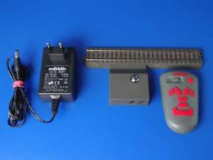 MARKLIN H0 - 00748 - Wireless infrared controller + Terminal straight C-track LN
