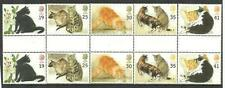 Cats British Stamps