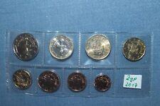 KMS Chypre 2017 lots 1 cents - 2 EURO 3,88 euro rôle Banque UNC RAR