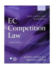 EC Competition Law: Text, Cases & Materials: Text, Cases and Materials, Jone