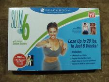 Slim in 6 with trainer Debbie Siebers by BeachBody 2 DVD Box Set + Bonus DVD