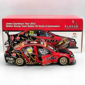 Classic 1:18 James Courtney's 2012 Holden VE Series II Commodore #22 18501