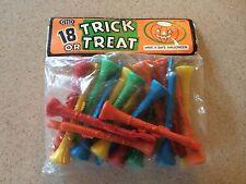 Vintage Betta Halloween Trick or Treat Gift Bag Unopened Unused Trumpet Toys