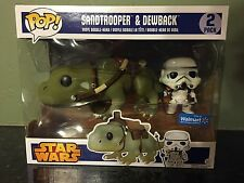 Funko Pop! Star Wars Sandtrooper and Dewback Pop Walmart Exclusive NEW *Rare