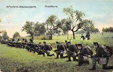 B17049 Infanterie Schutzenkette Tirailleurs Bataillon Feldpost switzerland