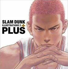 PLUS/SLAM DUNK ILLUSTRATIONS 2 SLAM DUNK Book from JAPAN