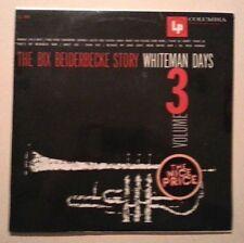 The Bix Beiderbecke Story Paul Whiteman Days Vol 3 Sealed LP CL 846 Bing Crosby
