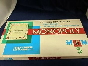 Vintage 1961 Monopoly Board Game Original Box - Complete   NICE!!!!!