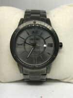 Relic ZR11998 Men's Stainless Steel Analog Gray Dial Quartz Genuine Watch Ff90