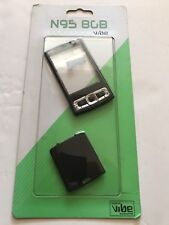 Nokia N95 8gb Full Fascia Housing Cover Front Back Case Keypad Replacement Black