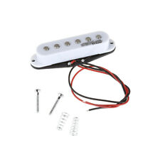 Wilkinson White High Output Ceramic Single Coil Middle Pickup For Strat Guitar