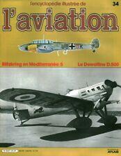 Revue l'encyclopédie illustrée de l'aviation 1982 éditions Atlas No 34