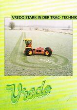 Vredo Trac- Technik, orig. Prospekt 1999