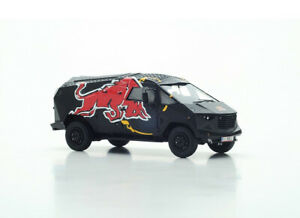 RB One Red Bull Party Truck Resin Model Car B1058
