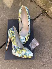 Ladies Size 36 (3) Karen Millen Floral Shoes Worn Once