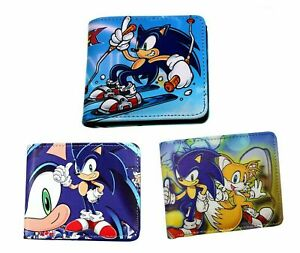 Sonic the Hedgehog Bifold Wallet Leather