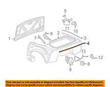 Chevrolet GM OEM 05-13 Corvette Trunk Lid-Rear Seal 15881440