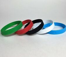Nike Silicone Wristband Lot Of 5  Bracelet Accessory