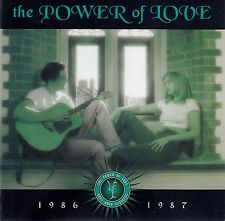 THE POWER OF LOVE 1986-1987 / 2 CD-SET (TIME LIFE MUSIC TL629/4) - TOP-ZUSTAND