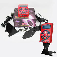 Plastic Pro Digital Tattoo Power Supply LCD Display 2A Oscilloscope Brand new