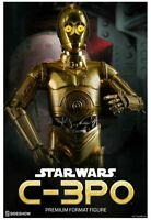 Star Wars - C-3PO Premium Format Figure 1/4 Statue sideshow Signed