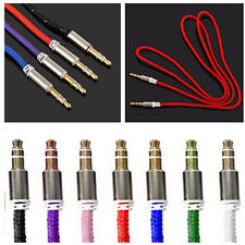 Auxiliary Cable 3.5mm Stereo Audio Input Extension Male to Male AUX Car Cord CIT