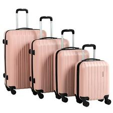 4 Pcs Luggage Set Trolley Spinner Suitcase Travel Bag 16