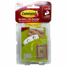 3M Command Saw Tooth Picture Hanger - White
