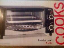 COOKS NEW 4-Slice Toaster Oven