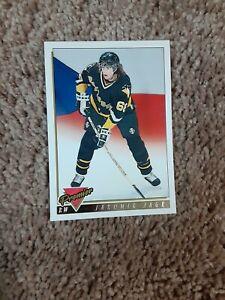 1993-94 Topps Premier 2 Pittsburgh RW Jaromir Jagr Czech #325 gold hockey card