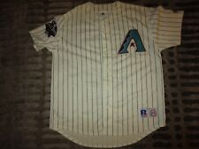 Luis Gonzalez #20 Arizona Diamondbacks 2001 MLB World Series Majestic Jersey LG