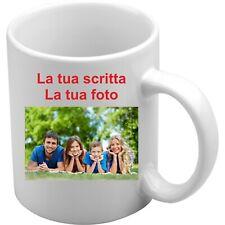 Tazza Mug personalizzabile con foto o frase gadget idea regalo logo aziendale
