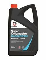 SCA5L COMMA ANTI FREEZE CONCENTRATED Mono Ethylene Glycol 5 LITRES BS6580-2010