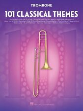 101 Classical Themes for Trombone Instrumental Solo Book NEW 000155322