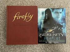 Firefly: A Celebration Anniversary Edition Serenity Visual Companion Joss Whedon