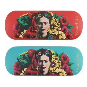 Frida Kahlo Floral Glasses Case - Brand New