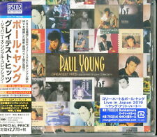 PAUL YOUNG-GREATEST HITS JAPAN ONLY BLU-SPEC CD2+DVD+BOOK BONUS TRACK G29