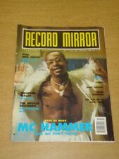 RECORD MIRROR 1990 JULY 7 MC HAMMER CAMEO NEW ORDER