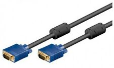 5m goobay s-vga kabel svga vga xga monitor anschlusskabel mit ferrite vergoldet