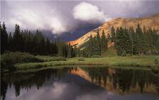 Mountain Cloudy Photo Background Scenic Studio Photography Backdrop Vinyl 7x5ft