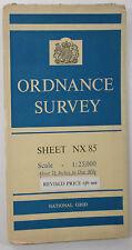 1954 OS Ordnance Survey 1:25000 First Series Prov Map NX 85 Dalbeattie Forest