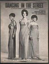 Dancing In The Street 1964 Martha Reeves and the Vandellas Sheet Music