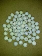 72 Assorted Pre-owned Golf Balls (Titleist, Top Flight, etc)