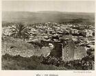 BEJA VUE GENERALE OVERVIEW TUNISIE TUNISIA IMAGE 1939 PRINT