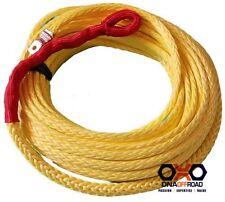 Australian made 10mm x 30M winch rope yellow