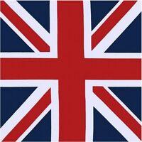 BANDANA  FOULARD PAISLEY MOTO rockabilly UK bandiera union jack headwrap biker