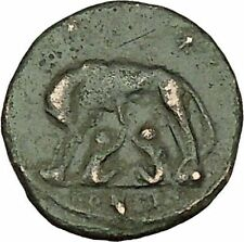"Constantine I The Great Ancient Roman Coin Romulus & Remus ""Mother"" wolf i40078"